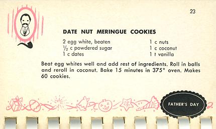 Date Night Meringue Cookies