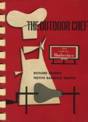 cover of the outdoor chef / budw