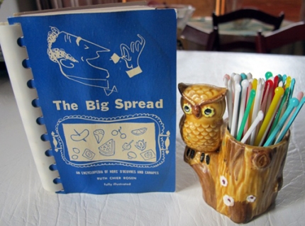 The Big spread cover and cute owl